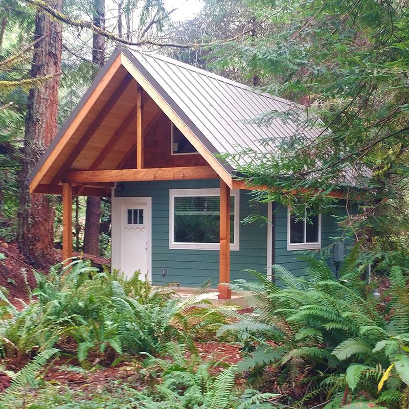 Fern Hook Vacation Cabins One Bedroom Rental Cabin Redwood Coast