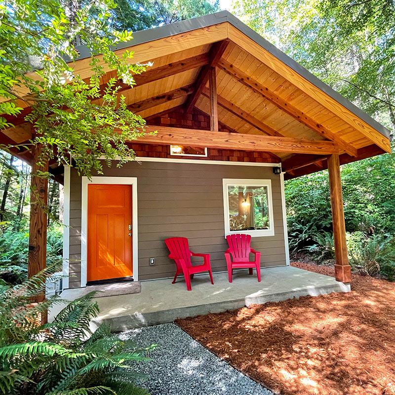 Redwood Coast Vacation Rentals 2 Bedroom Cabin Fern Hook See More