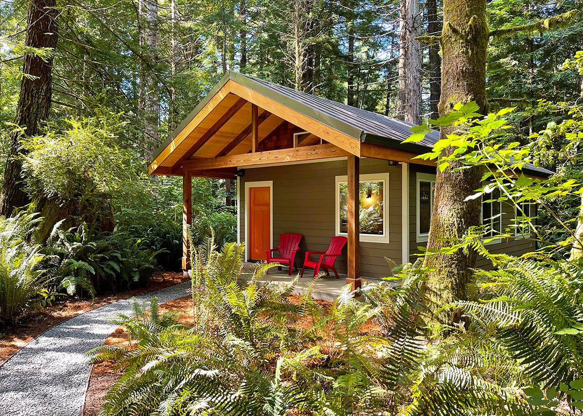 Redwood Coast Vacation Rentals Two Bedroom Cabins Private Secluded Reserve Now