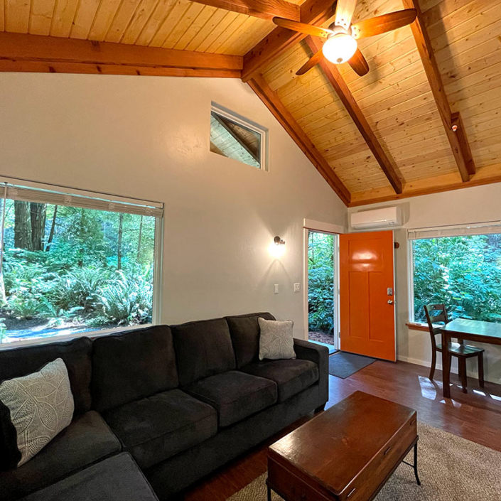 Redwood Forest Rentals Fully Furnished Home Located Along California Coast