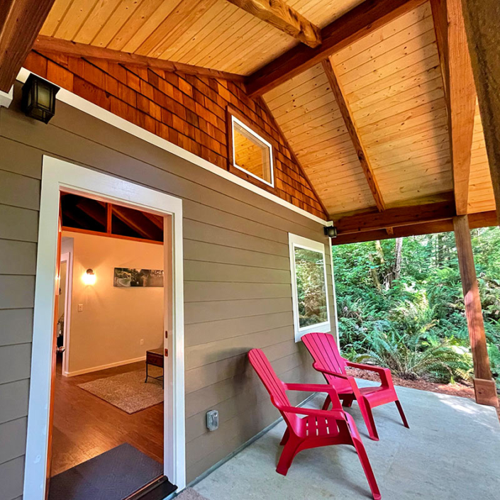 Spend Time in the Redwood Coast Vacation Rentals Fern Hook Cabins Crescent City California Brookings Oregon